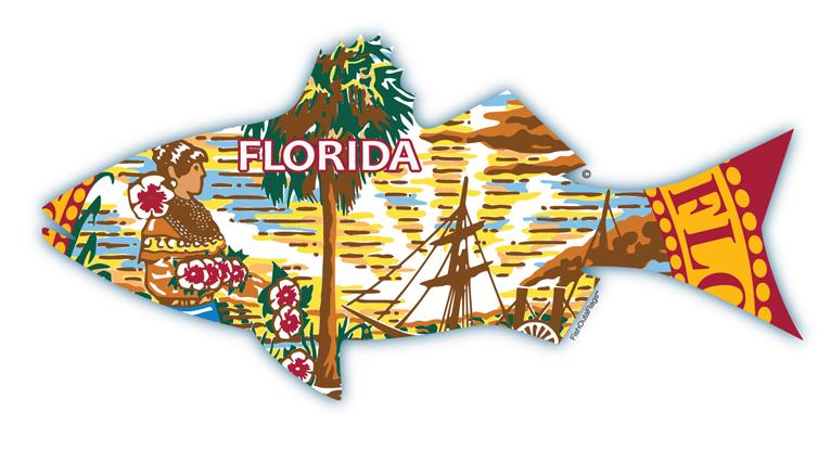 Florida state fish flag for Florida state fish