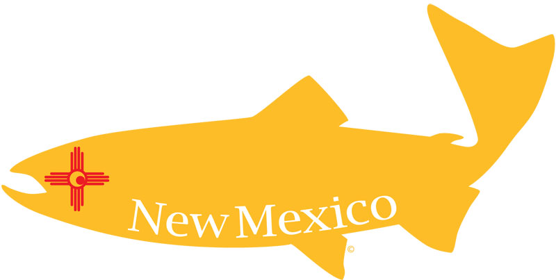 New mexico state fish flag with eye design for New mexico state fish