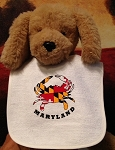 Crabs Outa Maryland - Baby Bib