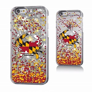 Crabs Outa Maryland Glitter Phone Case
