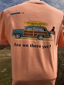 Are We There Yet? Maryland Vintage Woody T-Shirt