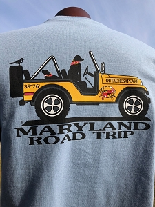 Outa Chesapeake® Maryland's Road Trip T-Shirt