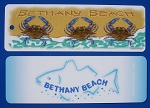 Crabs Outa Books - Bethany Beach Book Mark