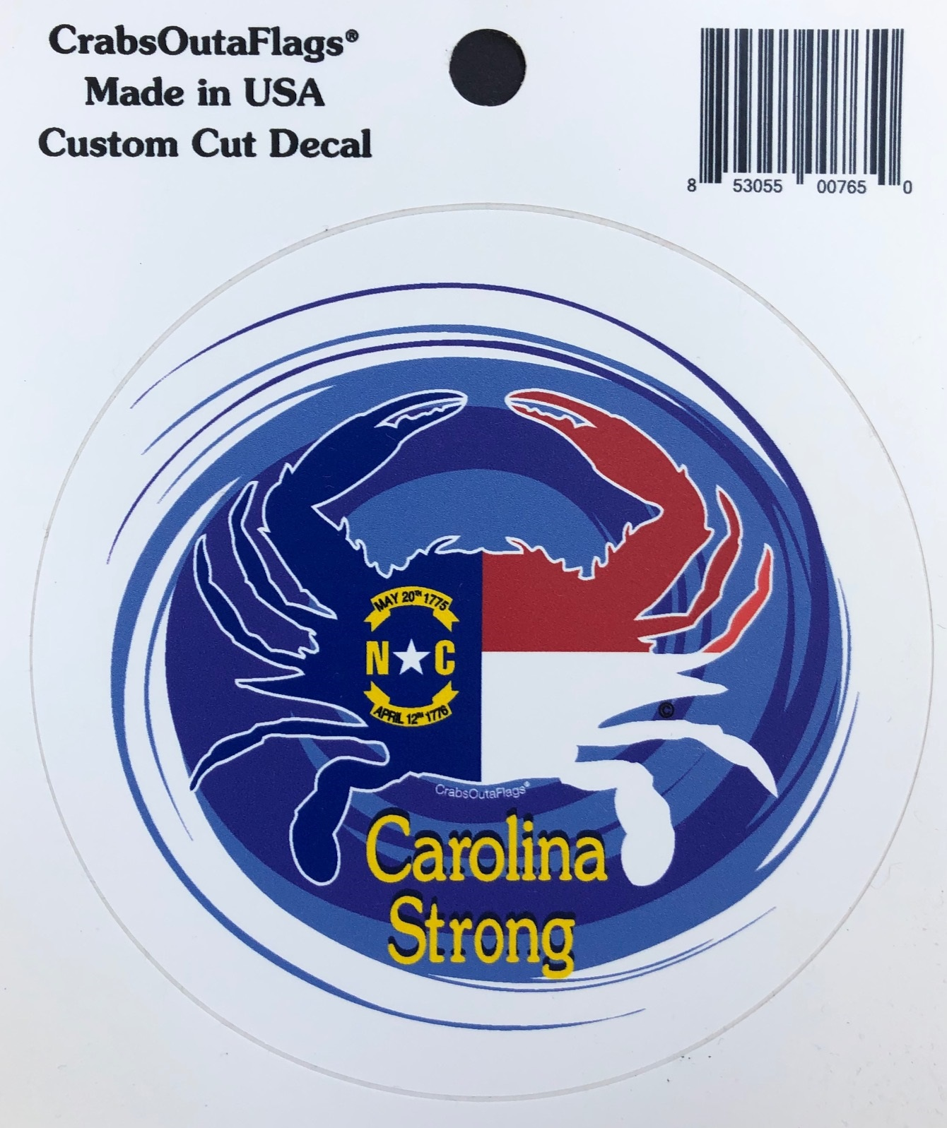 NC Strong Decal