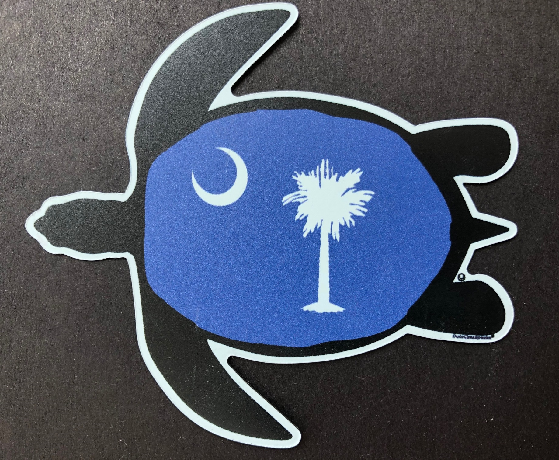 South Carolina Sea Turtle Magnet