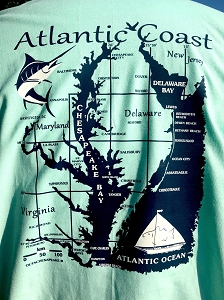 OutaChesapeake® Atlantic Coast T-Shirt