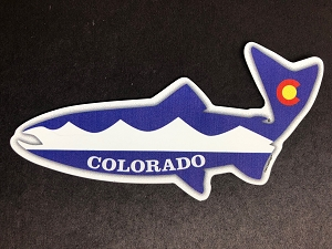 Fish Outa Colorado Magnet