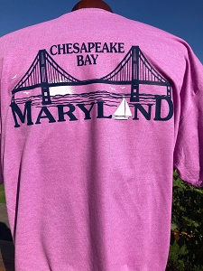Maryland Bay Bridge T-Shirt