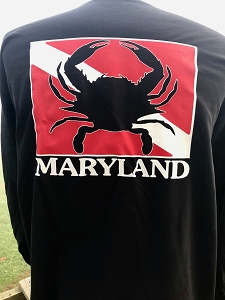 Maryland Crab Dive T-Shirt