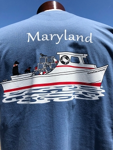 Outa Chesapeake® T-shirt - Maryland Deadrise
