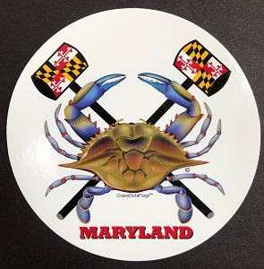 Hammer Time Crab Decal