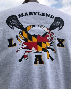 Crabs Outa Stix - Maryland LAX T-Shirt