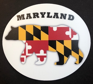 Bears Outa Maryland - Oval