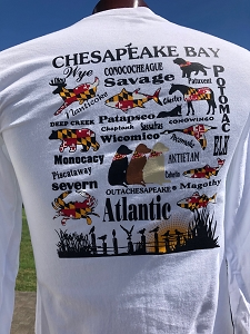 Outa Chesapeake® Maryland's Waterways T-Shirt