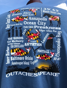 Outa Chesapeake® Maryland's Best T-Shirt
