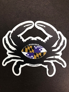 Tailgate Crab- Relentless - Magnet and Decal