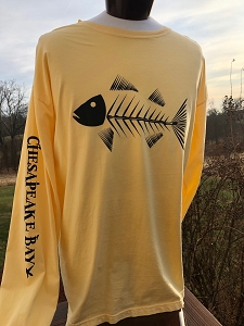 Outa Chesapeake® Maryland Rockfish Bone T-Shirt