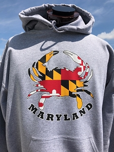 Crabs Outa Maryland Hoodie