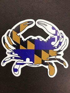 Tailgate Crab - Purple Magic Magnet