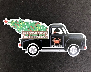 Outa Chesapeake® Maryland Christmas Truck