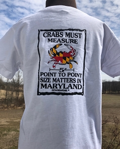 Infants/Kids Point-to-Point Crabbing T-Shirt