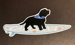 South Carolina Surf Pup Magnet