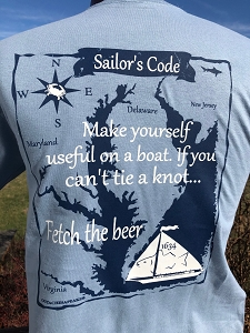 Outa Chesapeake® Sailor's Code T-Shirt