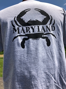 Outa Chesapeake® Maryland Crab Sandwich T-Shirt