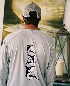 HardShell® Maryland Marlin UV/UPF Shirt