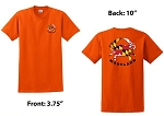 Crabs Outa Maryland - Orange T-Shirt