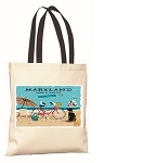 Outa Chesapeake ® Maryland Beach Life Tote