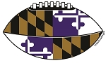 Tailgate - Purple & Gold Football