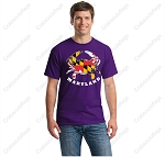 Crabs Outa Maryland - Purple T-Shirt