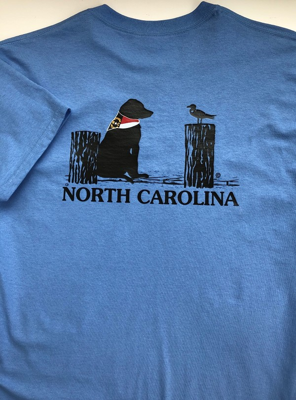North Carolina Dock Dog T-Shirt