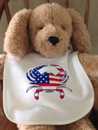 All American Crab Bib