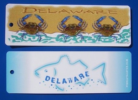 Crabs Outa Books - Delaware Book Mark
