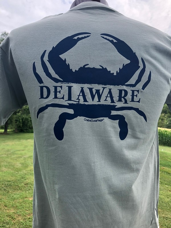 Outa Chesapeake® Delaware Crab Sandwich T-Shirt
