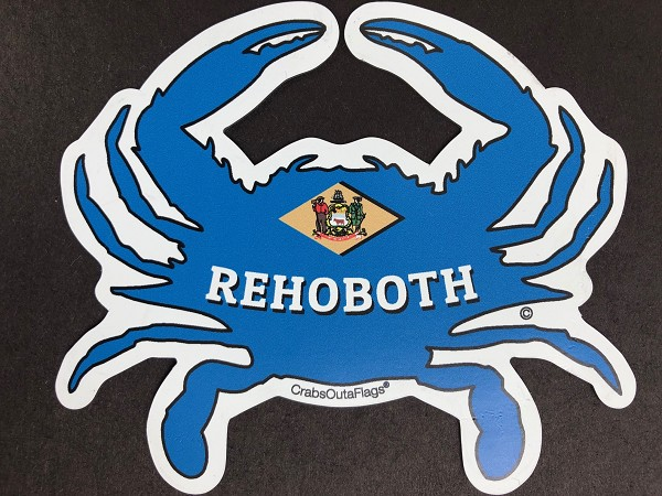 Crabs Outa Rehoboth Beach - Custom Cut