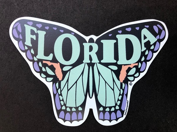 OutaChesapeake® Florida Butterfly Magnet