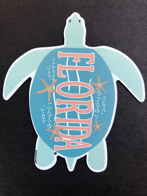 OutaChesapeake® Florida Sea Turtle Magnet