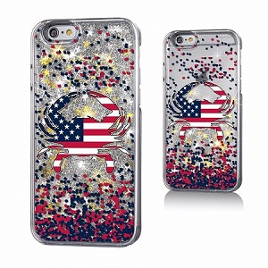 All American Crab Glitter Phone Case