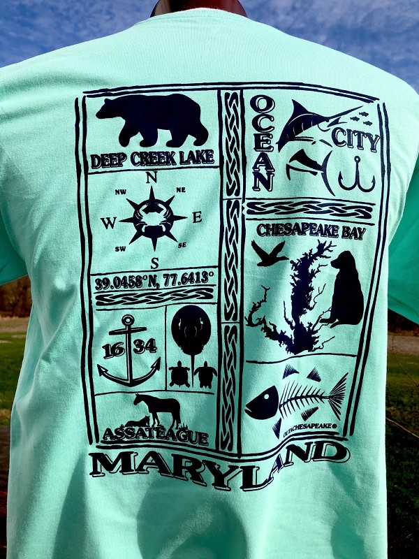 Maryland Vacation T-Shirt