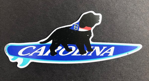 North Carolina Surf Pup Magnet and Decal