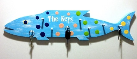 Fish Outa Planks - Composite Key Fish