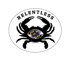 Tailgate Crab - Relentless Oval